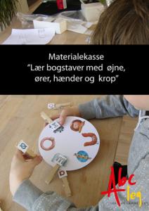 lær bogstaver læringsstilskoncept