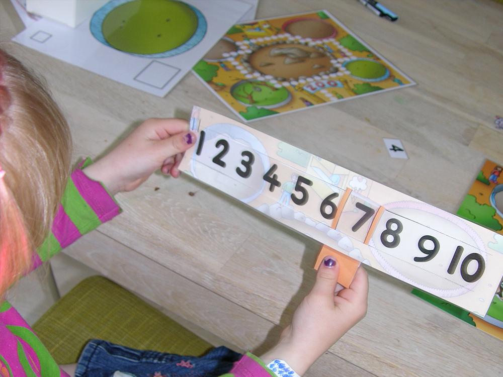 Lær talmængder med æører, øjne, hænder og krop